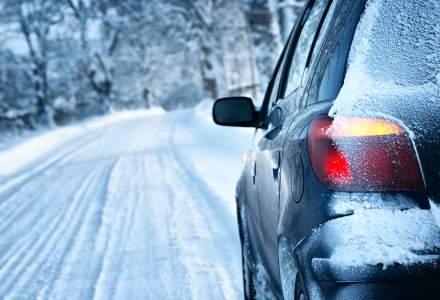 70% dintre soferi au pierdut controlul masinii pe timp de iarna
