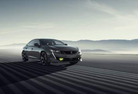 Conceptul modelului electrificat 508 Peugeot Sport Engineered va fi expus la Geneva