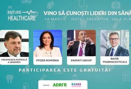 Future Healthcare: Cine sunt speakerii de la conferinta si care vor fi temele de discutie din cadrul evenimentului
