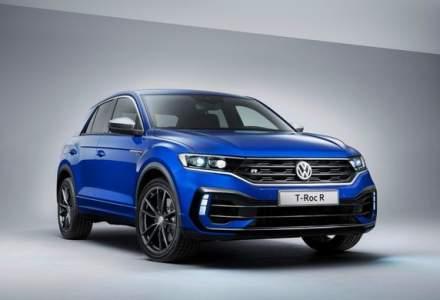Volkswagen a prezentat noul T-Roc R: motor TSI de 2.0 litri cu 300 CP si 400 Nm, tractiune integrala si 0-100 km/h in 4.9 secunde: debut la Geneva