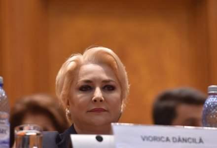 """Viorica Dancila, invitata in Camera Deputatilor la """"Ora prim-ministrului"""" pe tema OUG 114/2018"""