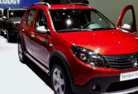 Dacia Sandero, mai ieftina decat vopseaua de pe un Ferrari