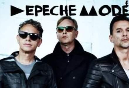 Biletele pentru concertul Depeche Mode incep de la 135 de lei