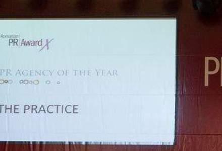 The Practice, desemnata agentia anului la Romanian PR Award
