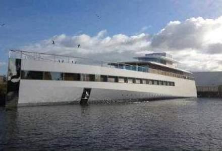 Yachtul lui Steve Jobs isi face prima aparitie publica (VIDEO)