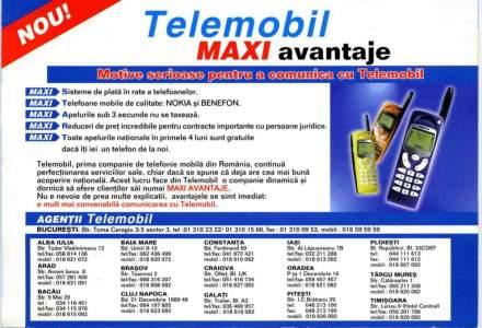 Primul operator mobil din Romania: iti amintesti de Telemobil/Zapp?
