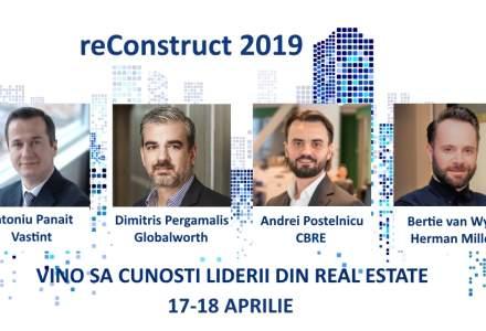 "ReConstruct 2019: vino la conferinta ca sa afli cum poti face business intr-o piata de real estate tot mai ""disruptiva"""