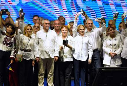 Miting de sustinere a PSD in Brasov: mai multi ministri au vorbit despre situatia Romaniei