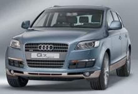 Scaderea dolarului scoate modelul hibrid Audi Q7 de pe piata din Statele Unite