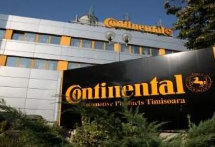 Continental mareste anul viitor cu 15% productia de anvelope la Timisoara