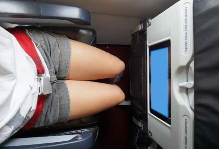 Companie aeriana limiteaza unghiul de inclinare al scaunelor pentru a nu deranja alti pasageri
