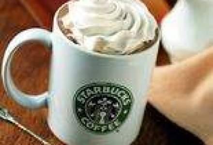 Starbucks a avut peste 500.000 de clienti in primul an pe piata romaneasca