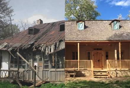 Cum este salvata casa lui George Enescu de la Mihaileni de fundatia Pro Patrimonio?