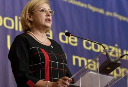 Corina Cretu: Rata de absorbtie a fondurilor europene este de 20%