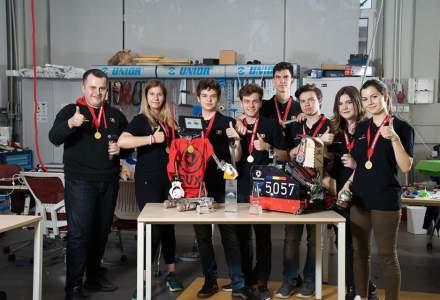 Romania a castigat locul intai la Campionatul International de Robotica din Africa de Sud
