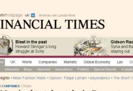 Miliardarul Michael Bloomberg vrea sa cumpere publicatia Financial Times