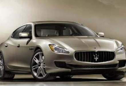 Maserati concureaza Porsche cu noua versiune Quattroporte