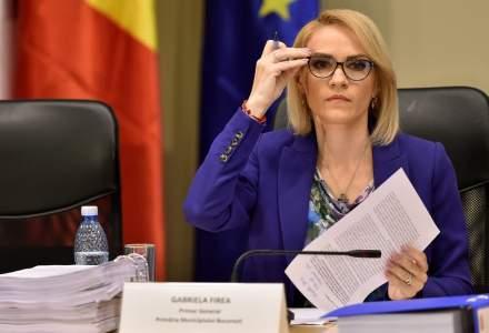 Gabriela Firea: Visez la politicieni demni de sacrificiu personal pentru Romania