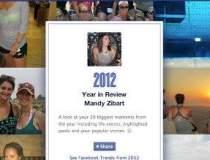 Anul 2012 prin ochii Facebook