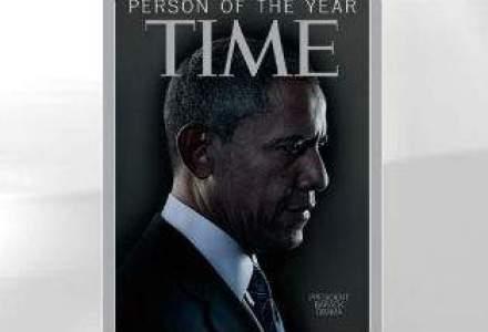 """Barack Obama, numit """"Omul Anului"""" de revista TIME"""
