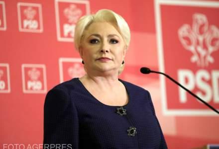 Viorica Dancila anunta ca va candida la sefia PSD. Premierul respinge o candidatura la prezidentiale