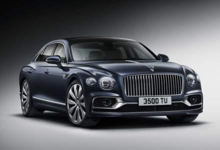 Bentley a prezentat noul Flying Spur: motor W12 de 635 CP si directie integrala