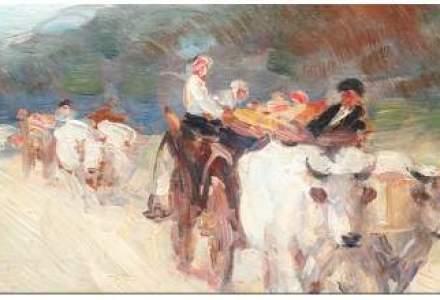 O pictura de Grigorescu, vanduta cu 165.000 euro la o licitatie de Craciun