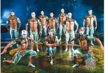 James Cameron aduce in cinema acrobatiile artistilor de la Cirque du Soleil