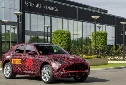 Aston Martin a inaugurat noua fabrica din Tara Galilor: primele prototipuri ale SUV-ului DBX au iesit pe poarta uzinei din St Athan
