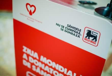 Mega Image doneaza echipamente medicale de 60.000 de euro pentru centrele de transfuzii din tara