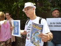 Protest la Cotroceni: circa...