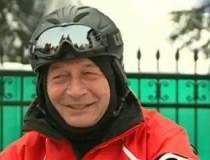 Basescu, pe snowmobil:...