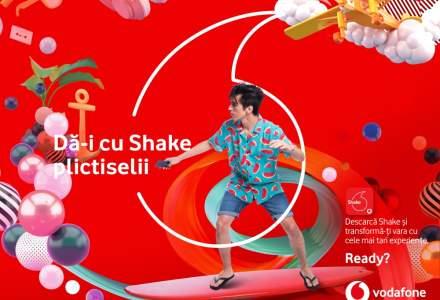 Vodafone ataca segmentul pana in 27 de ani cu oferta Shake