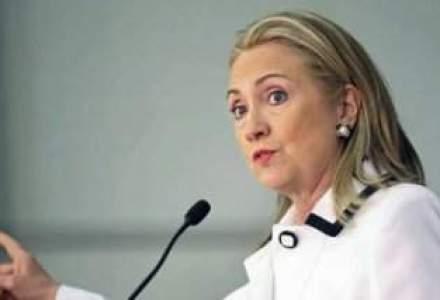 Hillary Clinton a fost externata, dupa patru zile de spitalizare