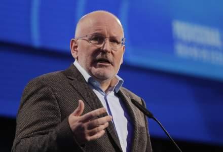 UPDATE: Frans Timmermans, favorit la functia de presedinte al Comisiei Europene - surse Reuters