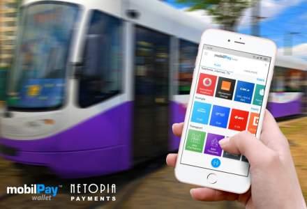 Timisoara: Plata cu mobilul in mijloacele de transport in comun