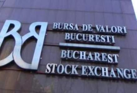 Bursa a incheiat saptamana cu cresteri usoare. Titlurile Carpatica au scazut
