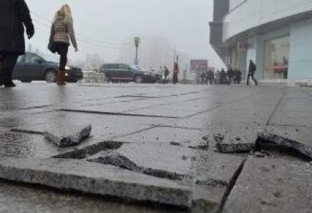 Griul Bucurestiului, griul indiferentei: peste 0,5 MILIOANE euro aruncate printre crapaturile de la Unirea