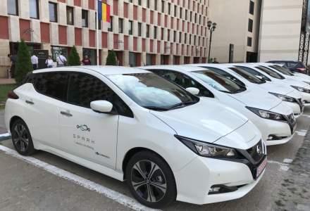Serviciul de e-car sharing Spark s-a lansat. Pretul - 1,4 lei/minut