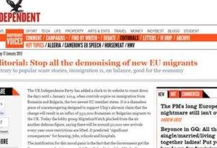 Britanicii: Opriti demonizarea romanilor! Imigratia e buna pentru economie