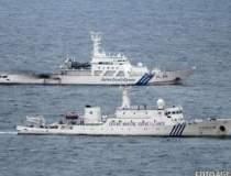 Trei nave chineze au patruns...