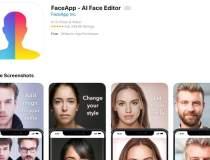 O falsa aplicatie FaceApp...