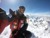 Alpinistul roman Alex Gavan...