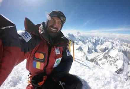 Alpinistul roman Alex Gavan urca din nou la peste 8.000 metri, pe varful Gasherbrum 2