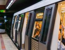Suicid la metrou. Circulatia...