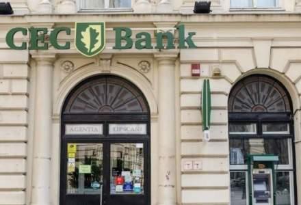 CEC Bank majoreaza dobanzile aferente depozitelor la termen cu rata fixa a dobanzii, in lei