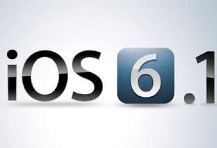 Apple a lansat update-ul la iOS 6.1. Ce noutati aduce?