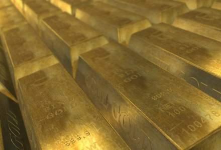 Aurul atinge miercuri o valoare record, de 202,1739 lei pentru un gram