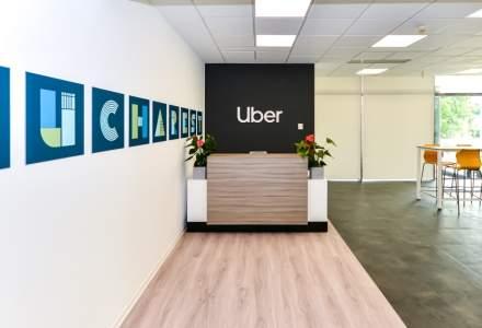 Cum arata cel mai mare centru de asistenta Uber pentru soferi si curieri din Europa Centrala si de Est din Pipera, amenajat de CBRE