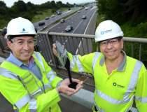 Englezii testeaza autostrada...